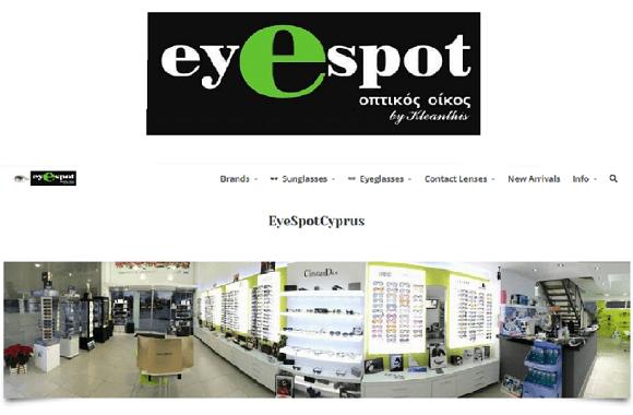 Eyespot Website