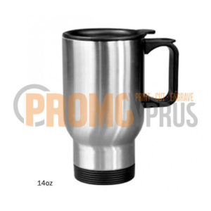 Double Wall Mug 14oz Silver Promocyprus Gifts